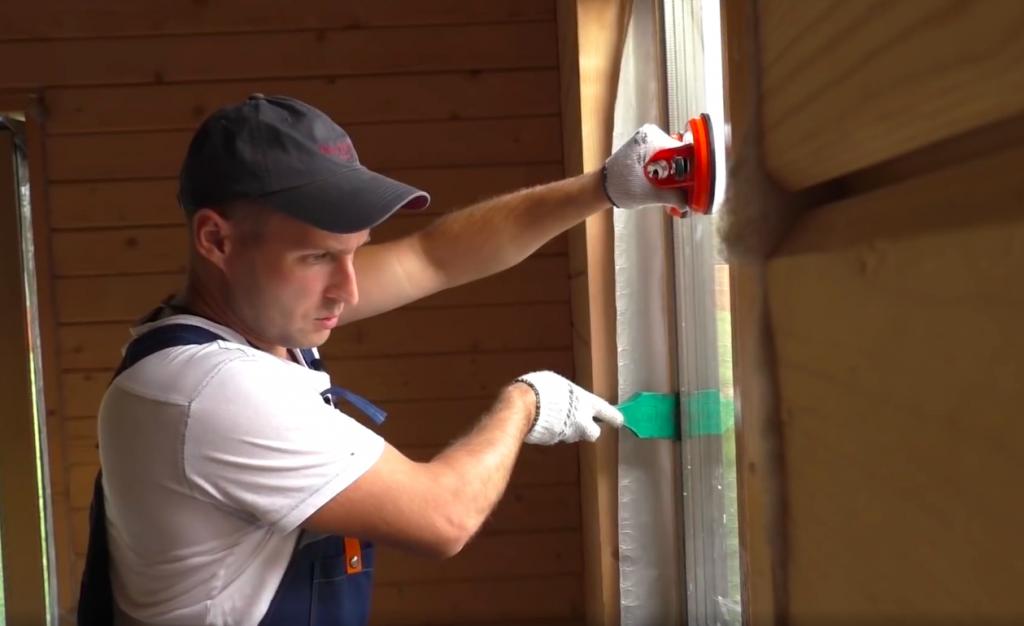 Правильный монтаж окна ПВХ в проеме