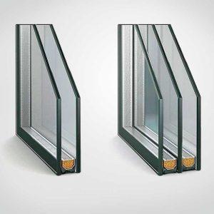 Замена однокамерного стеклопакета на двухкамерный в пластиковом окне