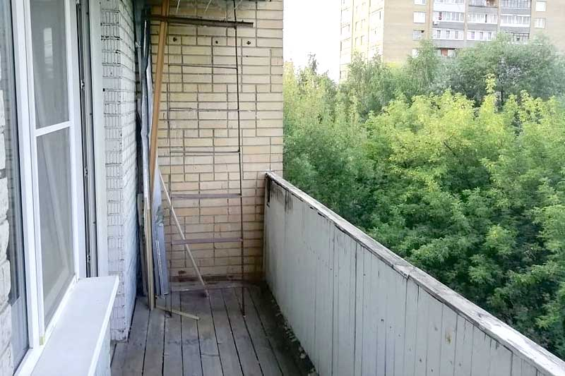 Балконное ограждение - парапет