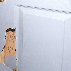 Ремонт межкомнатной двери своими руками