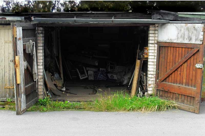Ремонт гаража, фундамента, ворот, крыши