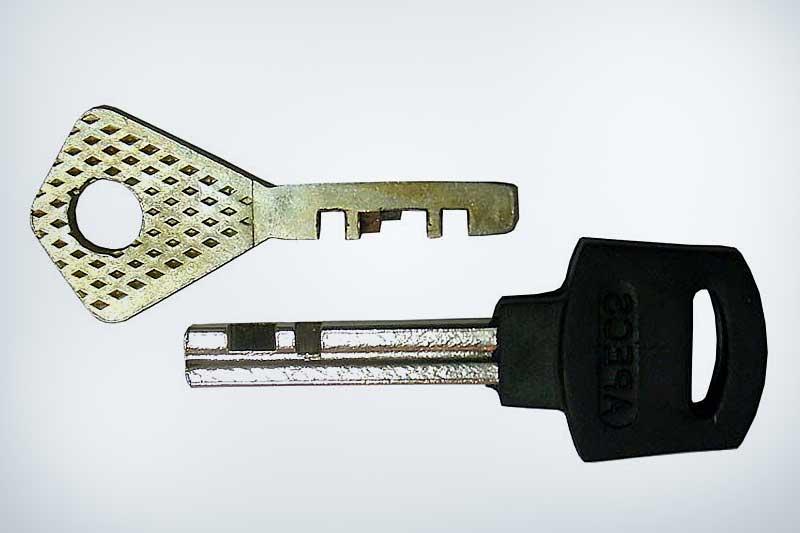 Ключ финского дискового замка