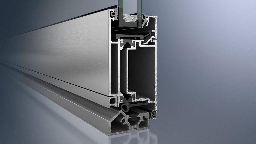 Алюминиевая входная дверь с уплотнителем