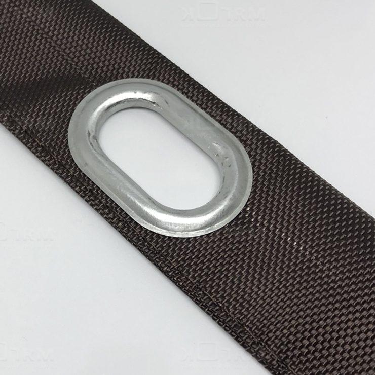 Овальный люверс для крепления мягких окон