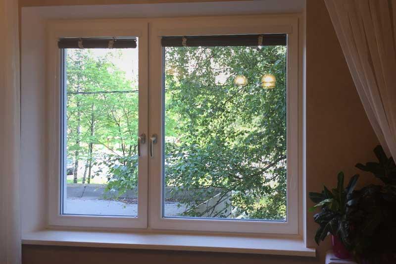 Окна с штукатурными откосами
