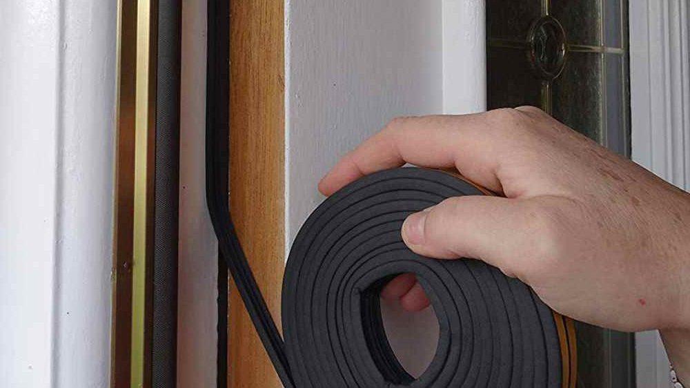 Замена уплотнитель для входной двери  самому