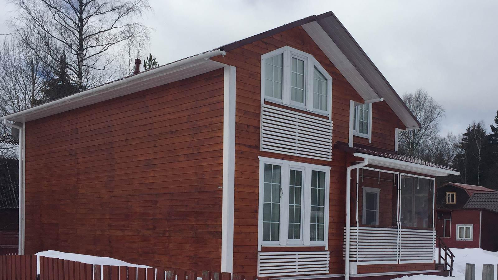 Мягкие окна ПВХ для загородного дома или дачи